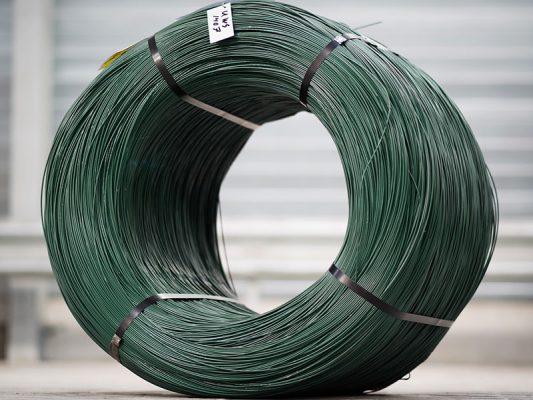 dây thép bọc nhựa PVC